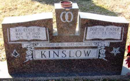 KINSLOW, CLYDE H. - Pope County, Arkansas | CLYDE H. KINSLOW - Arkansas Gravestone Photos