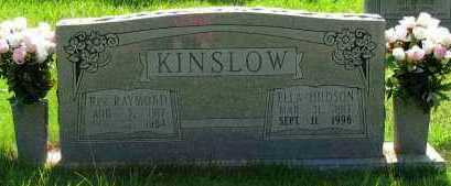HUDSON KINSLOW, ELLA - Pope County, Arkansas | ELLA HUDSON KINSLOW - Arkansas Gravestone Photos