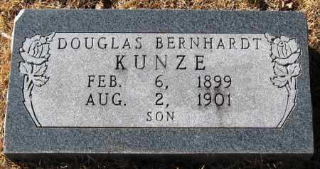 KUNZE, DOUGLAS BERNHARDT - Pope County, Arkansas   DOUGLAS BERNHARDT KUNZE - Arkansas Gravestone Photos
