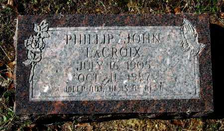 LACROIX, PHILLIP JOHN - Pope County, Arkansas   PHILLIP JOHN LACROIX - Arkansas Gravestone Photos
