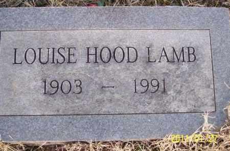 ALMOND LAMB, LOUISE ELIZABETH - Pope County, Arkansas | LOUISE ELIZABETH ALMOND LAMB - Arkansas Gravestone Photos