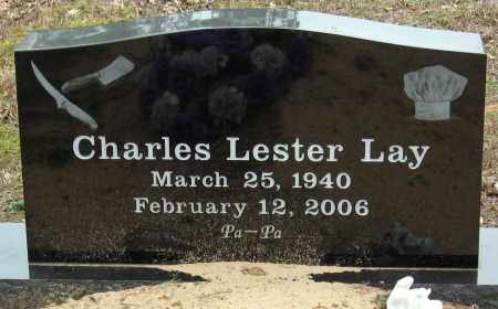 LAY, CHARLES LESTER - Pope County, Arkansas | CHARLES LESTER LAY - Arkansas Gravestone Photos