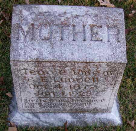 LEAVELL, TENNIE - Pope County, Arkansas   TENNIE LEAVELL - Arkansas Gravestone Photos