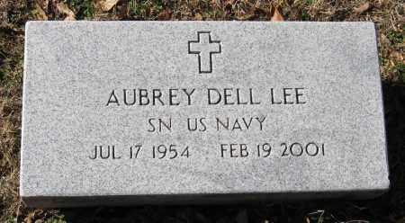 LEE  (VETERAN), AUBREY DELL - Pope County, Arkansas | AUBREY DELL LEE  (VETERAN) - Arkansas Gravestone Photos