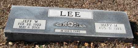 LEE, JEFF W - Pope County, Arkansas | JEFF W LEE - Arkansas Gravestone Photos