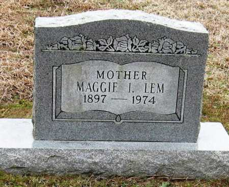 LEM, MAGGIE I - Pope County, Arkansas | MAGGIE I LEM - Arkansas Gravestone Photos