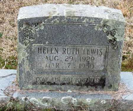 LEWIS, HELEN RUTH - Pope County, Arkansas   HELEN RUTH LEWIS - Arkansas Gravestone Photos