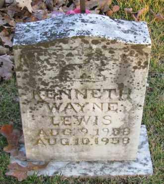 LEWIS, KENNETH WAYNE - Pope County, Arkansas | KENNETH WAYNE LEWIS - Arkansas Gravestone Photos