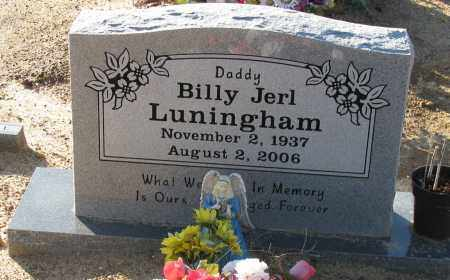 LUNINGHAM, BILLY JERL - Pope County, Arkansas   BILLY JERL LUNINGHAM - Arkansas Gravestone Photos