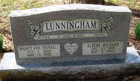LUNNINGHAM, NANCY ANN - Pope County, Arkansas | NANCY ANN LUNNINGHAM - Arkansas Gravestone Photos