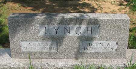 LYNCH, CLARA - Pope County, Arkansas | CLARA LYNCH - Arkansas Gravestone Photos