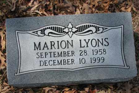 LYONS, MARION - Pope County, Arkansas | MARION LYONS - Arkansas Gravestone Photos
