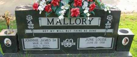 MALLORY SR., JOHNNIE JAMES - Pope County, Arkansas | JOHNNIE JAMES MALLORY SR. - Arkansas Gravestone Photos