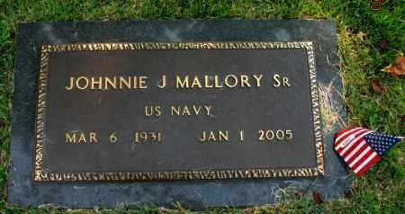 MALLORY, SR. (VETERAN), JOHNNIE J - Pope County, Arkansas | JOHNNIE J MALLORY, SR. (VETERAN) - Arkansas Gravestone Photos