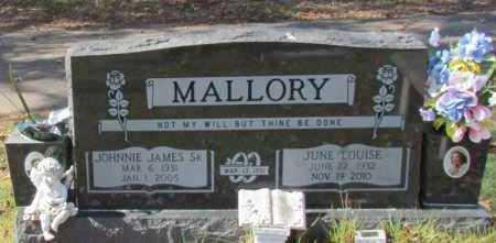 MALLORY, JUNE LOUISE - Pope County, Arkansas | JUNE LOUISE MALLORY - Arkansas Gravestone Photos