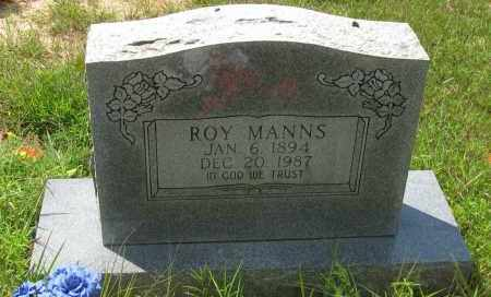 MANNS, ROY - Pope County, Arkansas | ROY MANNS - Arkansas Gravestone Photos