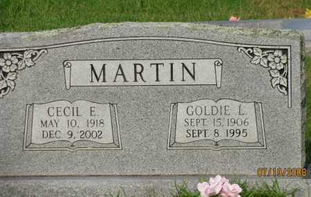 MARTIN, GOLDIE L - Pope County, Arkansas | GOLDIE L MARTIN - Arkansas Gravestone Photos
