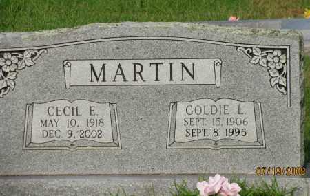 MARTIN, GOLDIE L - Pope County, Arkansas | GOLDIE L MARTIN - Arkansas Gravestone Photos