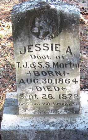 MARTIN, JESSIE A - Pope County, Arkansas | JESSIE A MARTIN - Arkansas Gravestone Photos