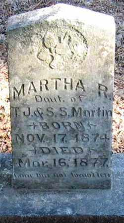 MARTIN, MARTHA R - Pope County, Arkansas | MARTHA R MARTIN - Arkansas Gravestone Photos