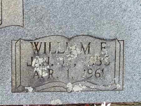 MARTIN, WILLIAM F (CLOSE UP) - Pope County, Arkansas | WILLIAM F (CLOSE UP) MARTIN - Arkansas Gravestone Photos