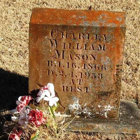 MASON, CHARLEY WILLIAM - Pope County, Arkansas   CHARLEY WILLIAM MASON - Arkansas Gravestone Photos