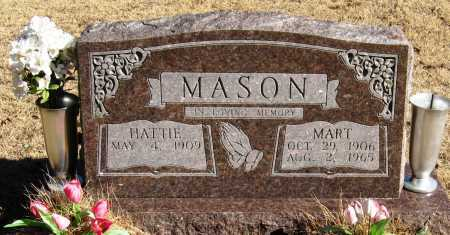 MASON, MART - Pope County, Arkansas | MART MASON - Arkansas Gravestone Photos