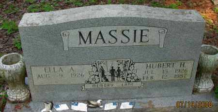 MASSIE, HUBERT H - Pope County, Arkansas | HUBERT H MASSIE - Arkansas Gravestone Photos