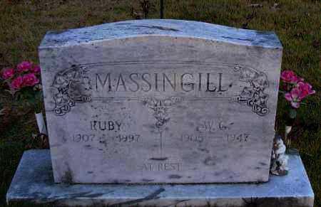 MASSINGILL, RUBY - Pope County, Arkansas | RUBY MASSINGILL - Arkansas Gravestone Photos