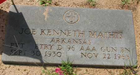 MATHIS (VETERAN), JOE KENNETH - Pope County, Arkansas | JOE KENNETH MATHIS (VETERAN) - Arkansas Gravestone Photos