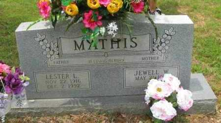 MATHIS, LESTER L - Pope County, Arkansas   LESTER L MATHIS - Arkansas Gravestone Photos