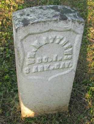 MATTHEWS (VETERAN UNION), WILLIAM - Pope County, Arkansas | WILLIAM MATTHEWS (VETERAN UNION) - Arkansas Gravestone Photos