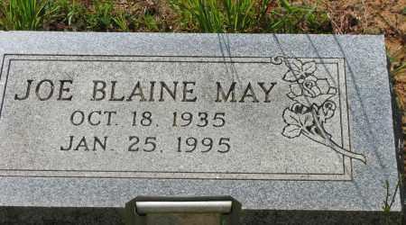 MAY, JOE BLAINE - Pope County, Arkansas   JOE BLAINE MAY - Arkansas Gravestone Photos
