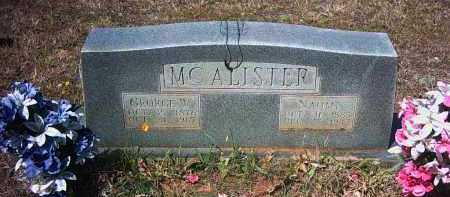 MCALISTER SR., GEORGE WALKER - Pope County, Arkansas | GEORGE WALKER MCALISTER SR. - Arkansas Gravestone Photos