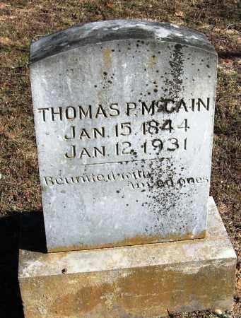 MCCAIN, THOMAS P - Pope County, Arkansas   THOMAS P MCCAIN - Arkansas Gravestone Photos