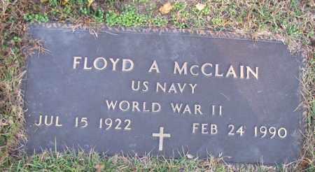 MCCLAIN (VETERAN WWII), FLOYD A - Pope County, Arkansas | FLOYD A MCCLAIN (VETERAN WWII) - Arkansas Gravestone Photos