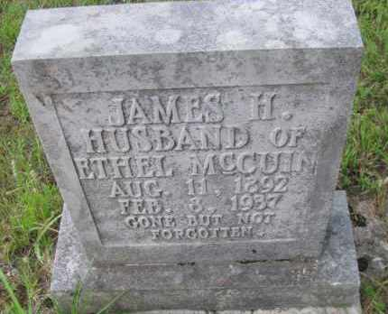 MCCUIN, JAMES H - Pope County, Arkansas | JAMES H MCCUIN - Arkansas Gravestone Photos