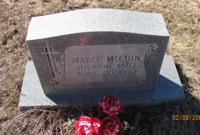 MCCUIN, MABLE - Pope County, Arkansas | MABLE MCCUIN - Arkansas Gravestone Photos
