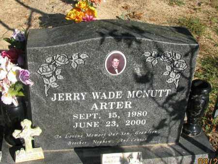 MCNUTT, JERRY WADE - Pope County, Arkansas | JERRY WADE MCNUTT - Arkansas Gravestone Photos