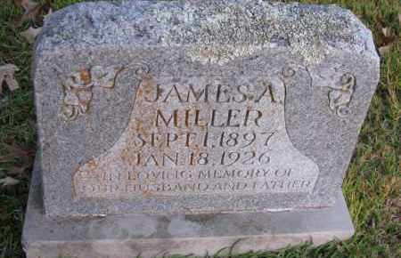 MILLER, JAMES A - Pope County, Arkansas | JAMES A MILLER - Arkansas Gravestone Photos