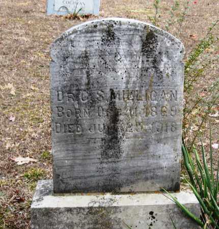 MILLIGAN, G  S, DR - Pope County, Arkansas | G  S, DR MILLIGAN - Arkansas Gravestone Photos