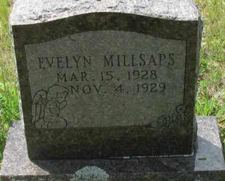 MILLSAPS, EVELYN - Pope County, Arkansas | EVELYN MILLSAPS - Arkansas Gravestone Photos