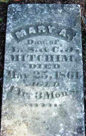MITCHIM, MARY A - Pope County, Arkansas   MARY A MITCHIM - Arkansas Gravestone Photos