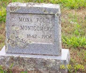 "MONTGOMERY, SUSAN SALMONA ""MONA"" - Pope County, Arkansas | SUSAN SALMONA ""MONA"" MONTGOMERY - Arkansas Gravestone Photos"