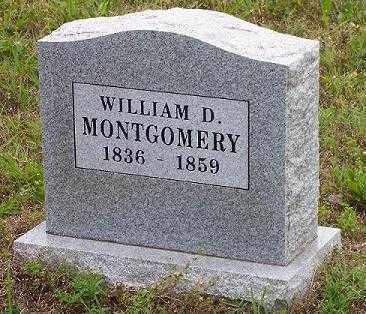 MONTGOMERY, WILLIAM DOLON - Pope County, Arkansas | WILLIAM DOLON MONTGOMERY - Arkansas Gravestone Photos