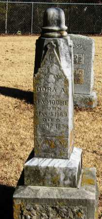 MOORE, DORA A - Pope County, Arkansas | DORA A MOORE - Arkansas Gravestone Photos