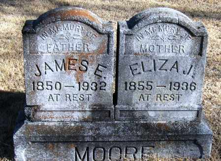 MOORE, ELIZA J - Pope County, Arkansas | ELIZA J MOORE - Arkansas Gravestone Photos