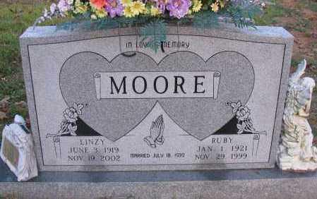 MOORE, LINZY - Pope County, Arkansas | LINZY MOORE - Arkansas Gravestone Photos