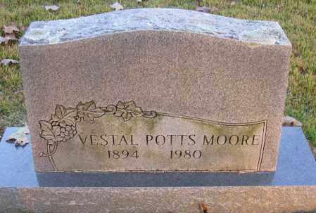 MOORE, VESTAL - Pope County, Arkansas | VESTAL MOORE - Arkansas Gravestone Photos