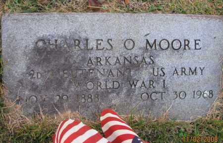 MOORE (VETERAN WWI), CHARLES O - Pope County, Arkansas | CHARLES O MOORE (VETERAN WWI) - Arkansas Gravestone Photos